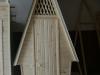 Кабинка туалетная с двускатной крышей - 15 000рублей